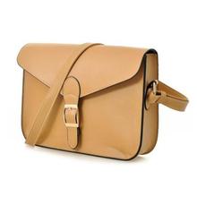 Elegant Solid Color PU Shopping Tote Bag For Women - Rose