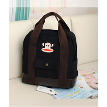 Fabulous Women's Canvas Paul Frank Backpack with Zipper