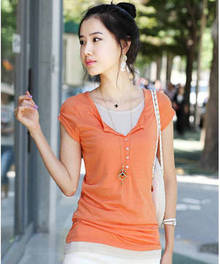 Casual Fit Cotton Blends T-Shirt For Women