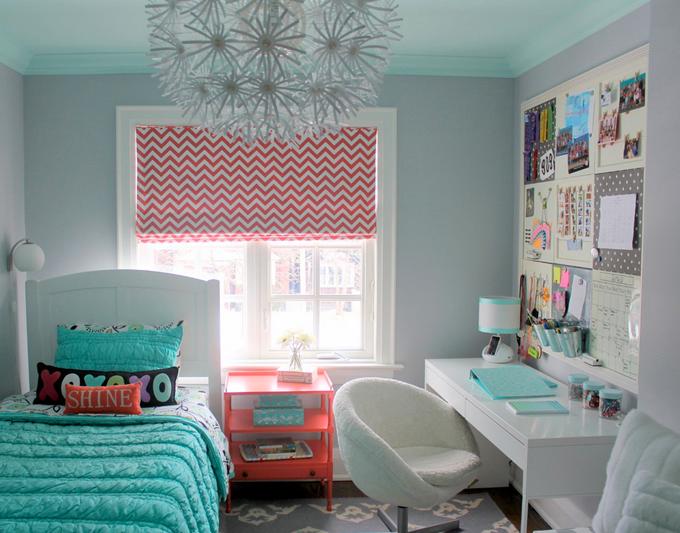 decoracao de interiores quartos femininos: de tudo funcional. Da para perceber que souberam usar bem o espaço
