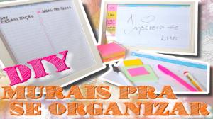 mural de organização