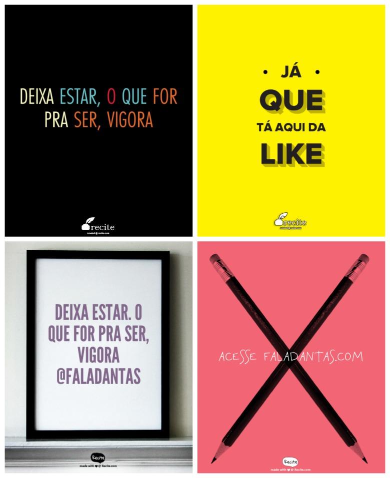 Como Criar Posteres E Frases Pra Imprimir Fala Dantasfala Dantas
