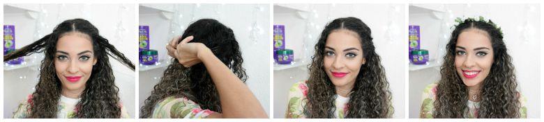 penteados+pracabelos+cacheados+coroa+de+flores