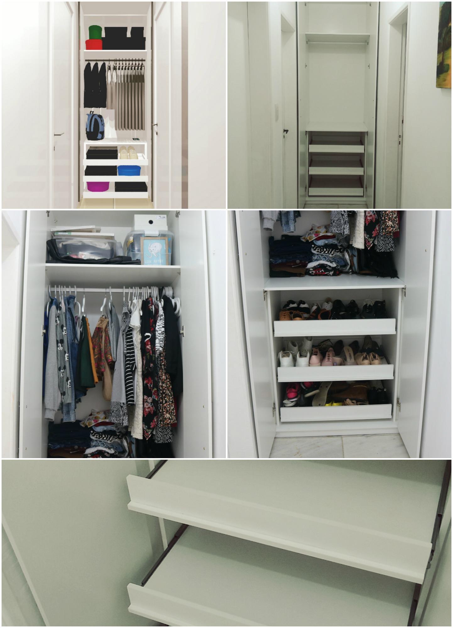 Meu Closet Pequeno M Veis Planejados Em Salvador Fala
