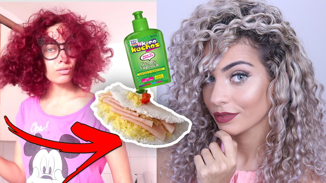 hidratação desmaia cabelo com tapioca