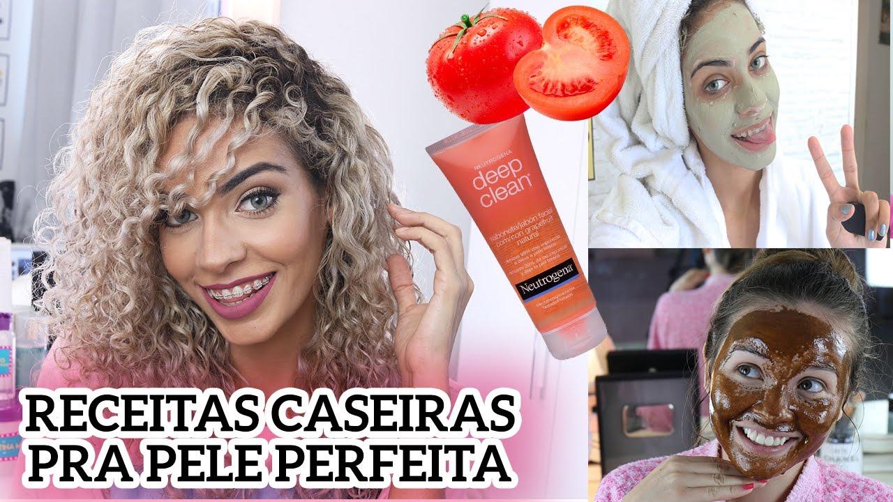 RECEITAS CASEIRAS PELE OLEOSA