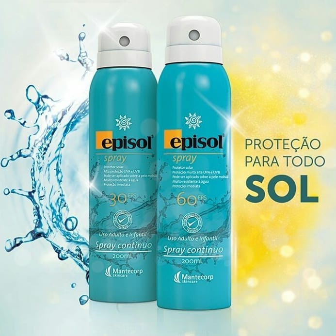 PROTETOR SOLAR EPISOL SPRAY FPS60
