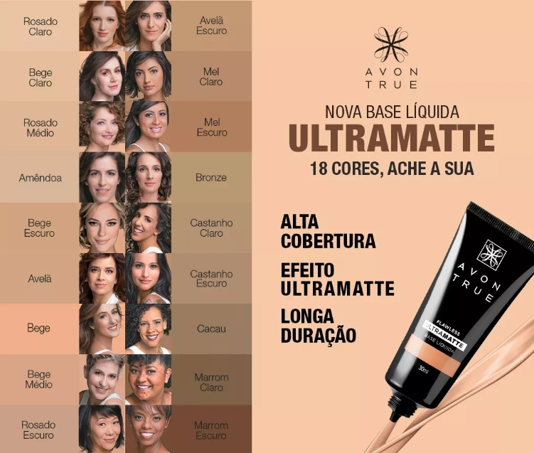 BASE AVON TRUECOLOR ULTRAMATTE