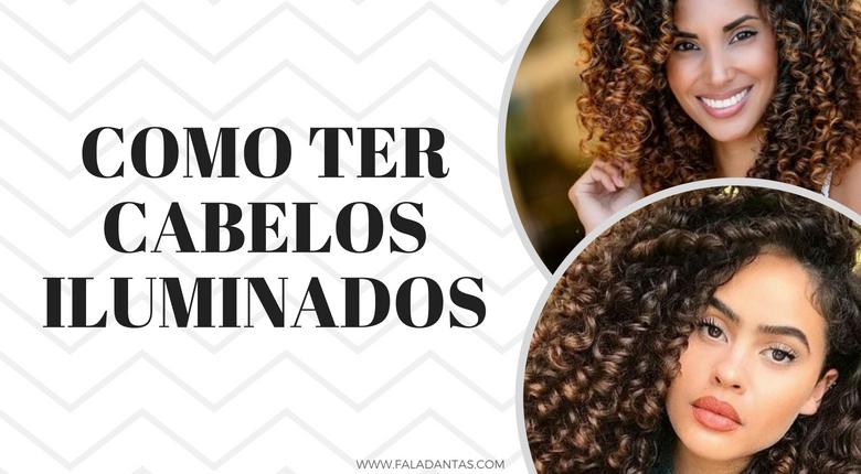 CACHEADAS E CRESPAS COM CACHOS ILUMINADOS PRA TE INSPIRAR