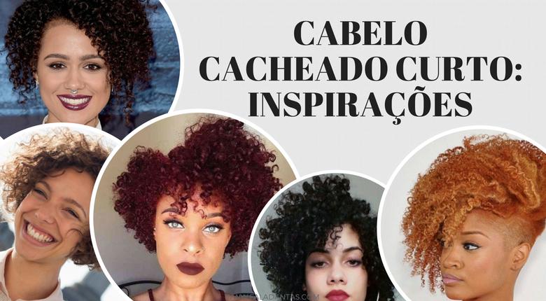 INSPIRAÇÕES DE CABELO CACHEADO CURTO