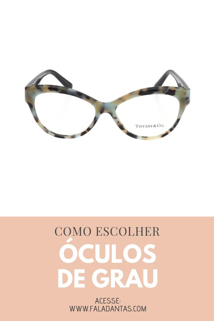 9a7f8b5f5 Hoje os óculos de grau vêm ganhando cada vez mais espaço e os Óculos de  Grau Tiffany são a prova disso.