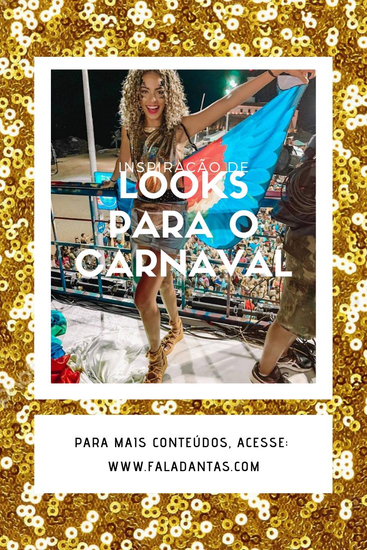 LOOKS PARA O CARNAVAL