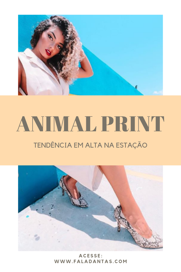 f53214fd1 Pode até parecer inevitável, mas, a tendência animal print é uma das mais  atemporais que existe. A tendência ficou bastante conhecida por conta da  estampa ...