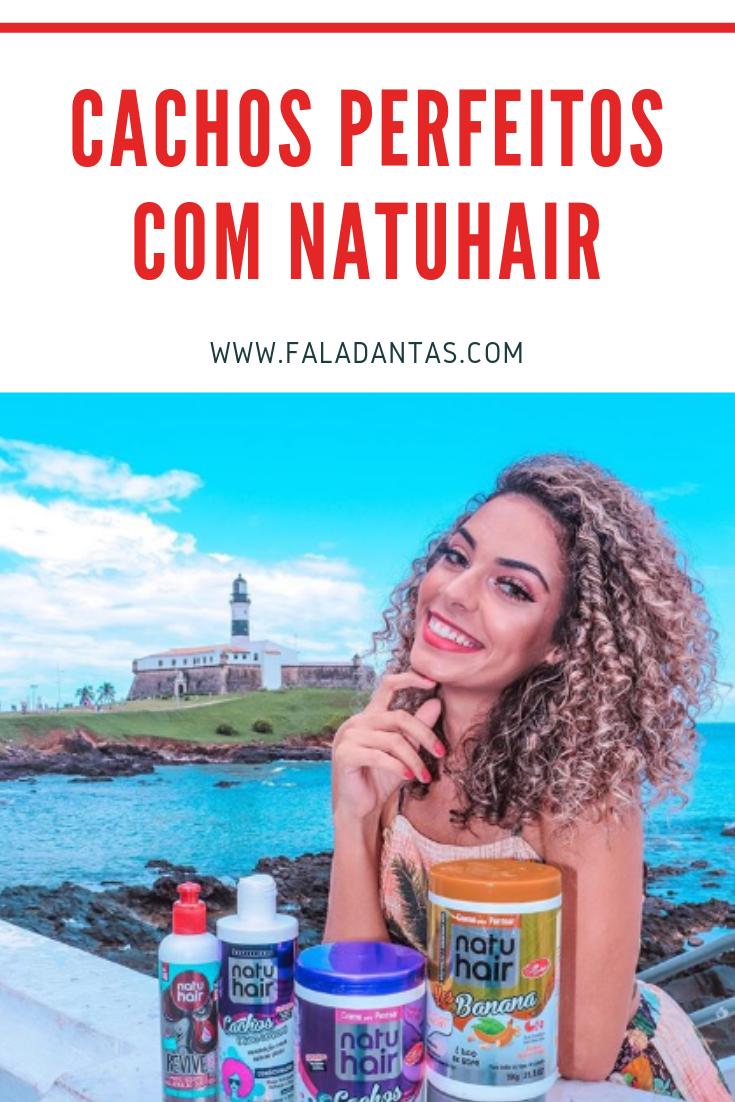 CACHOS PERFEITOS COM NATUHAIR