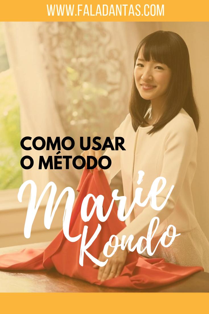 COMO ORGANIZAR TUDO: Método Marie Kondo