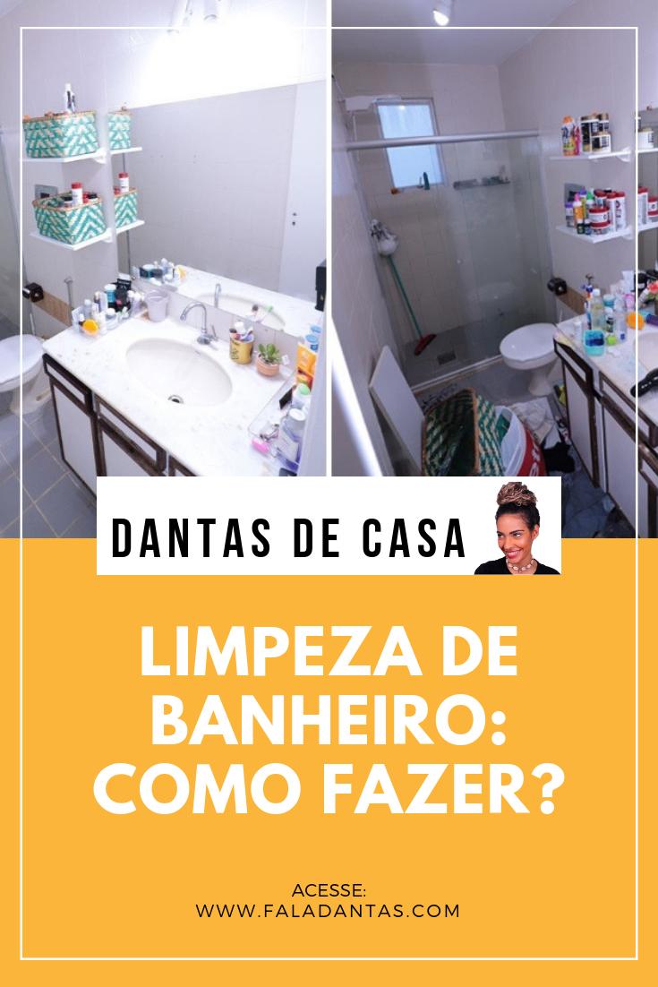 COMO FAZER LIMPEZA DE BANHEIRO SEM ESTRESSE