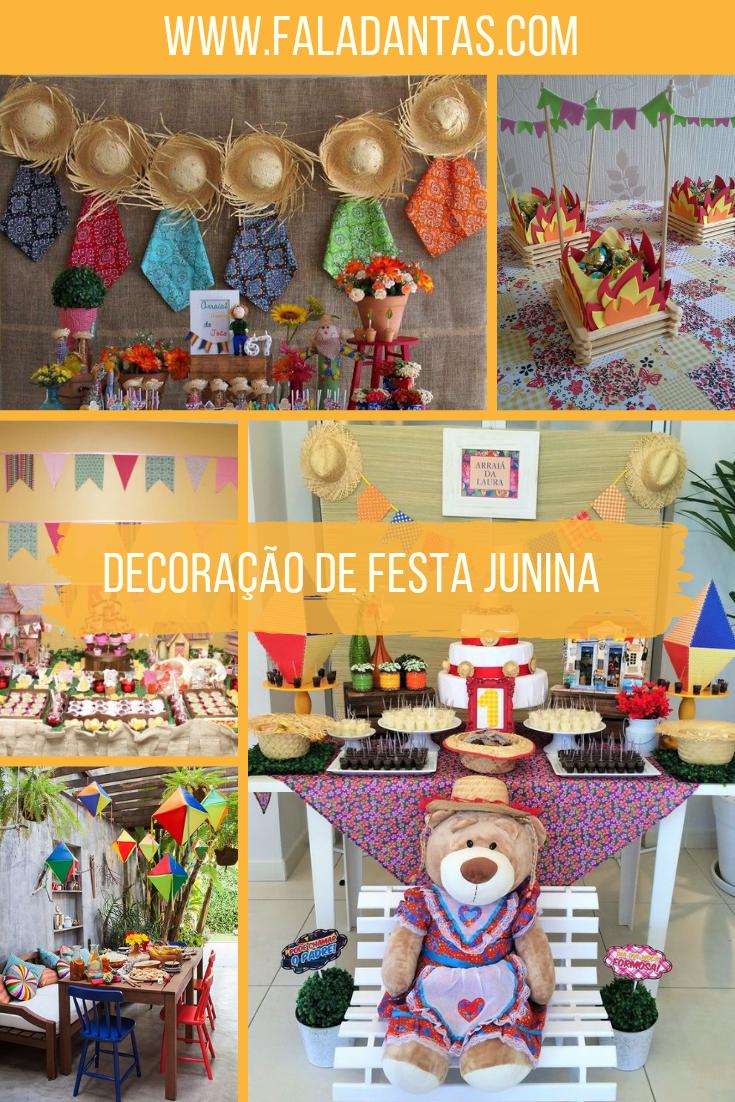 COMO MONTAR UMA DECORAÇÃO DE FESTA JUNINA INCRÍVEL
