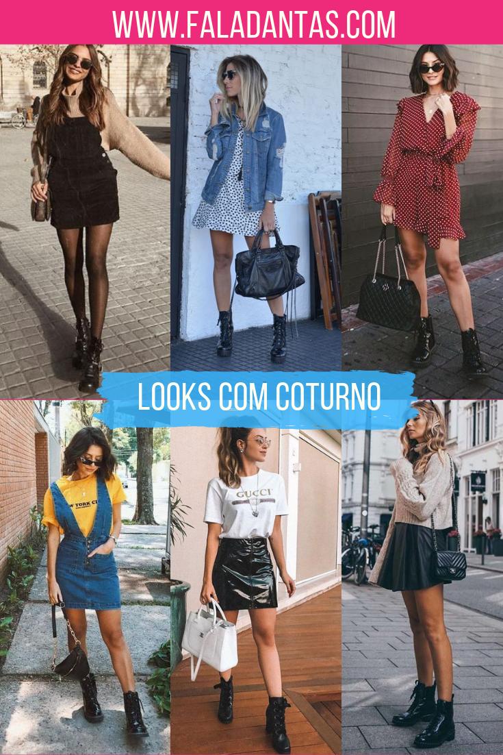 COTURNOS COMO USAR ESSA TENDÊNCIA-saias-vestidos