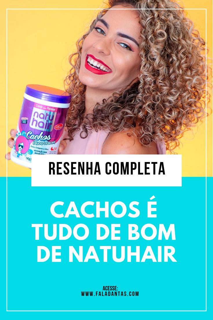 CACHOS É TUDO DE BOM DE NATUHAIR: Resenha!