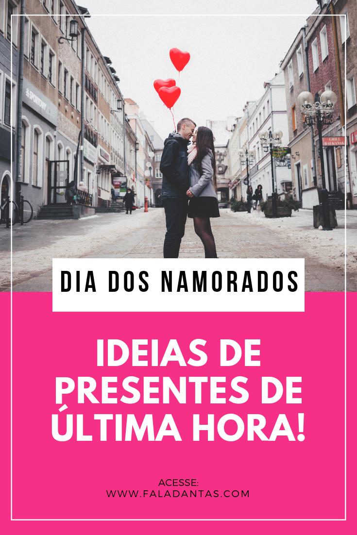 PRESENTES DE ÚLTIMA HORA PARA O DIA DOS NAMORADOS!