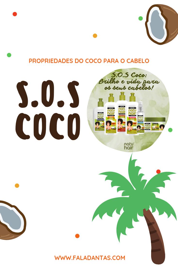 S.O.S Coco Máscara de Tratamento | NatuHair