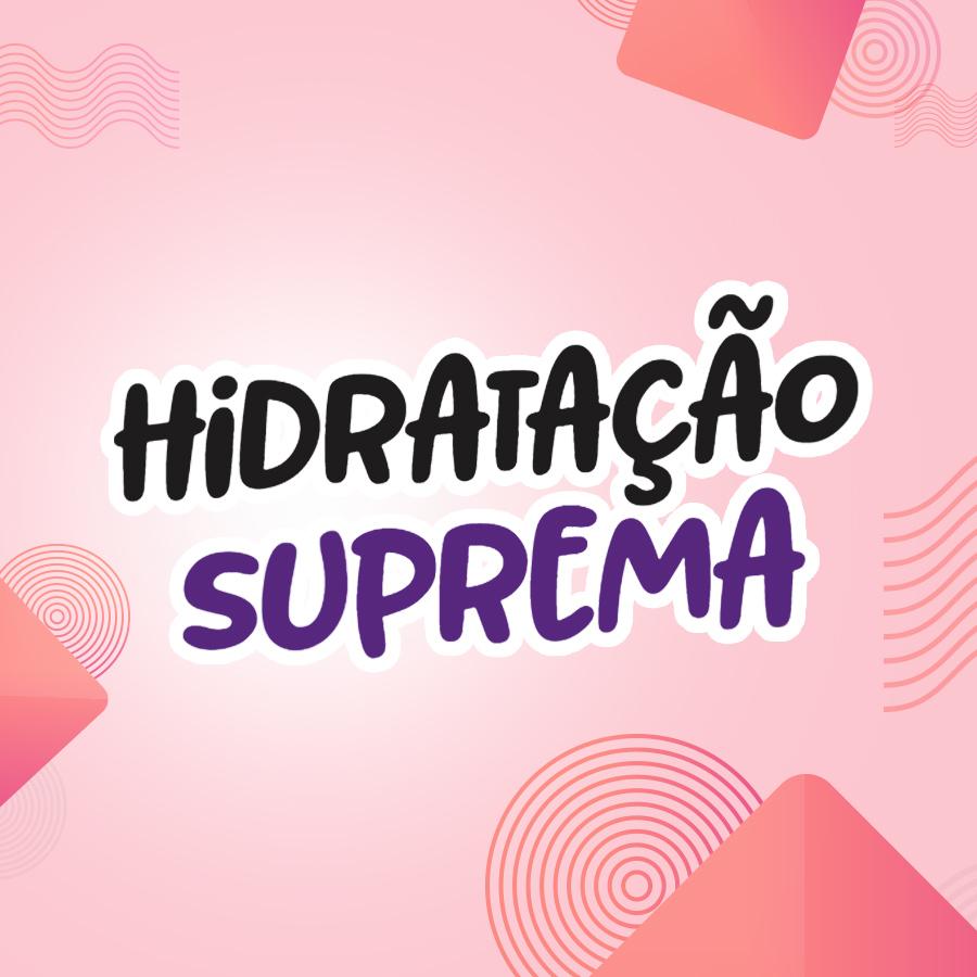 LINHA HIDRATAÇÃO SUPREMA NATUHAIR