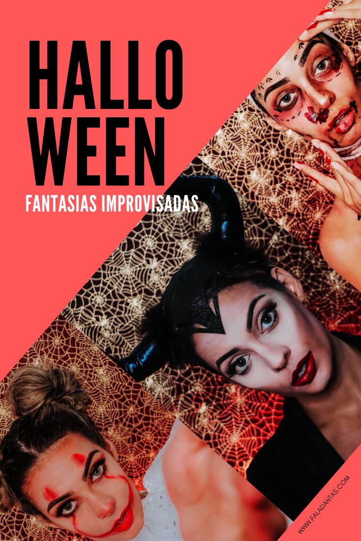 FANTASIA IMPROVISADA DE HALLOWEEN
