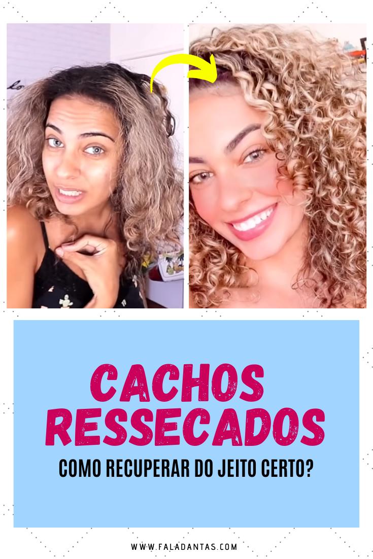 RECEITA CASEIRA PARA O CABELO RESSECADO