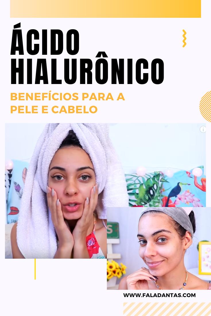 ÁCIDO HIALURÔNICO: Benefícios para a pele e cabelo