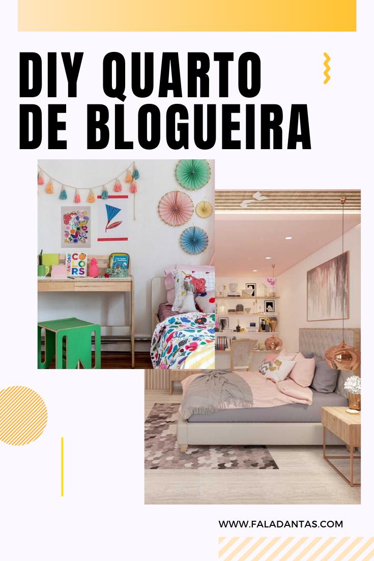 DIY QUARTO DE BLOGUEIRA