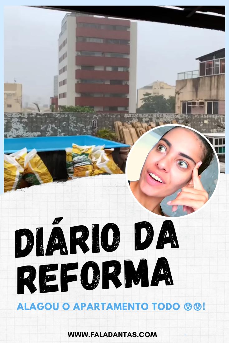 DIÁRIO DA REFORMA: A obra começou!