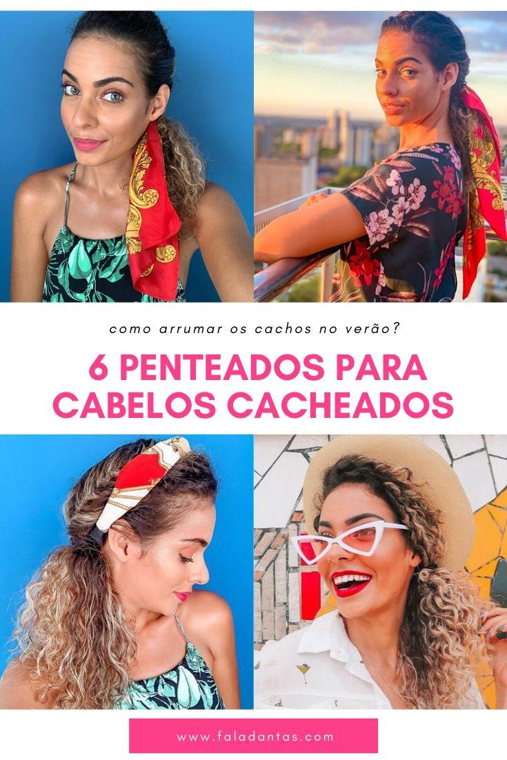 PENTEADOS FÁCEIS PARA CABELOS CACHEADOS