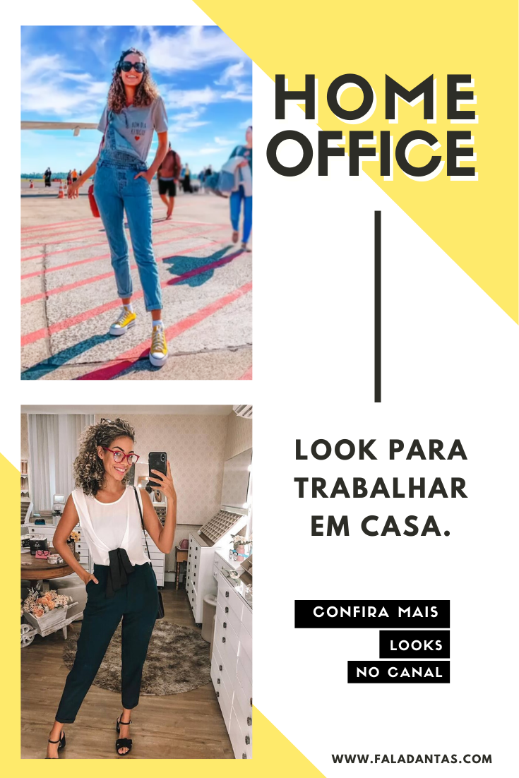 LOOKS PARA HOME OFFICE