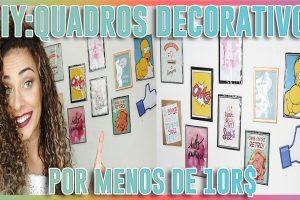 DIY+COMO+FAZER+MURAL+DE+QUADROS+DECORACAO